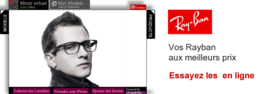 Lunettes de vue Ray Ban pour hommes