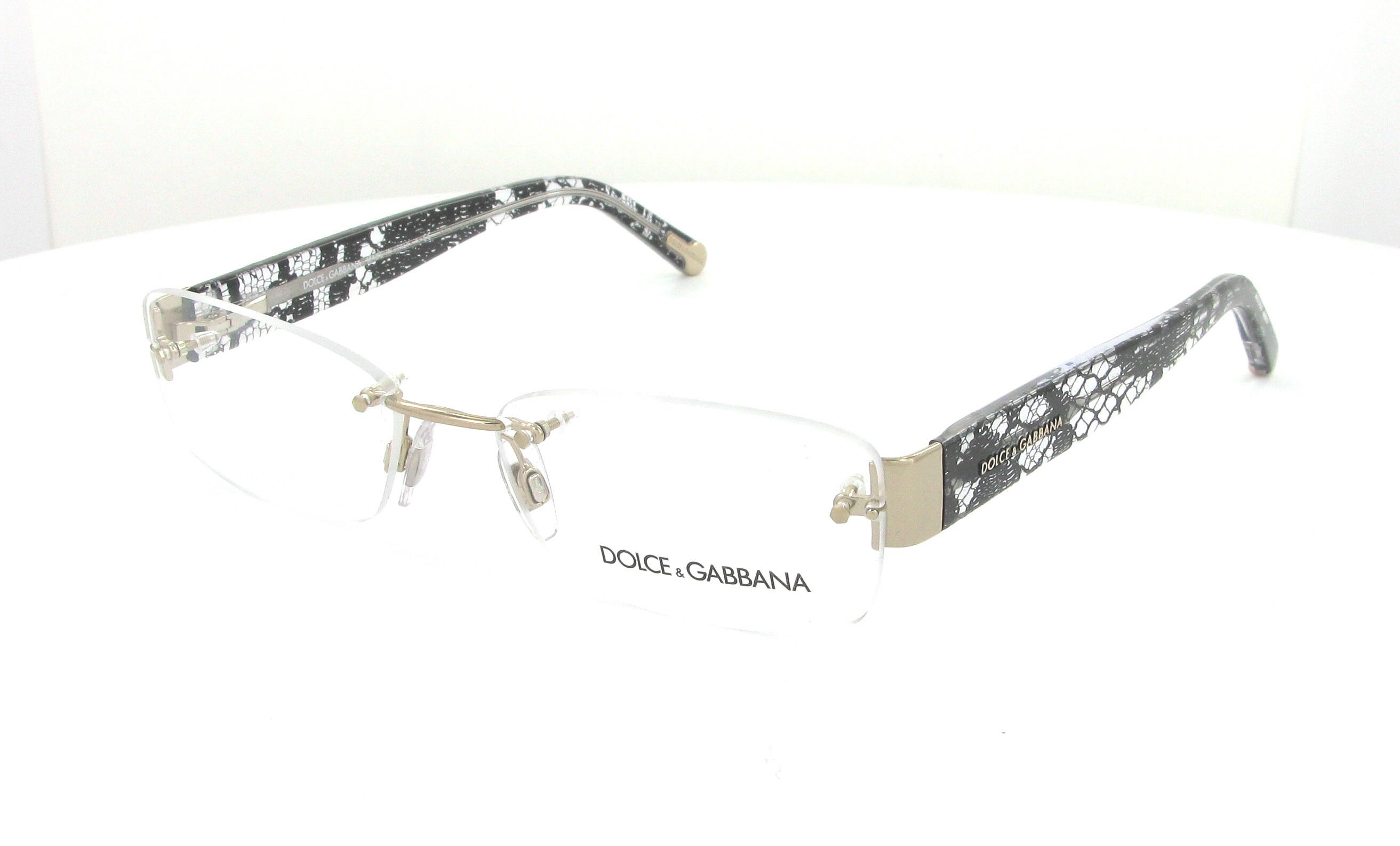 dolce and gabbana semi rimless eyeglasses louisiana
